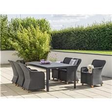 Outrium Havemøbelsæt - Toscana Parma 6 stole