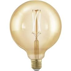 Eglo LED - LED E27 G125 3TRIN DÆMPBAR HVID 400 LM
