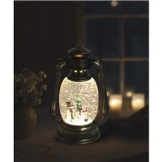 VELI LINE Dekorativ jul - Water Glitter lantern med snem�nd