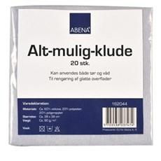 Abena Klud - Alt-mulig-klud 38x38 cm. 20 stk.