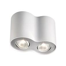 Philips Spotlampe - PILLAR 2-SPOTS - HVID