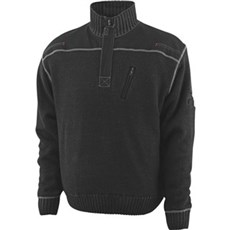 MASCOT® Sweatshirt - NAXOS STRIKTRØJE Str 2XL SORT