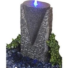 P&N Vandsten - Kræmmerhus sort granit Sort/grå granit
