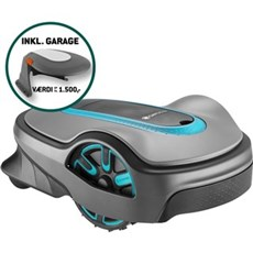 Gardena Robotplæneklipper - SILENO LIFE 1250m2 + Garage