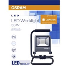 Osram Arbejdslampe - LED Worklight 50W S-Fod