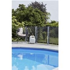 Plus Vedligeholdelsesfrit hegn - Windbreaker Sort polyester 90x93 cm