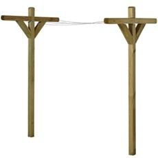 Sidste nye Tørrestativ udendørs tørring vasketøj - Køb online XL-BYG AZ-42