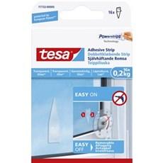 Tesa® Smart ophængningssystem - Dobbeltklæbende strips transparente overflader