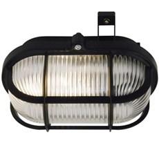 Nordlux Væglampe - Skotlampe oval sort