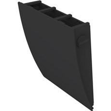 Duka Ventilator - Udvendig skærm, sort