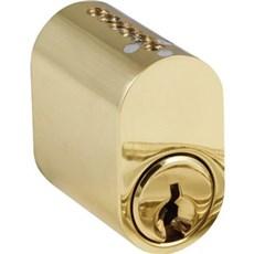 Jasa Cylinder - Cylinder 6-stift oval 1 stk. messing