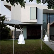 VELI LINE Solcellelampe - Solar Pendel sølv