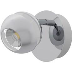 Eglo Spotlampe - NOCITO 1 L HVID/KROM