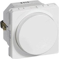 LK FUGA® Skydelysdæmper - Drejelysdæmper MEK-D 300CR 1 modul HVID