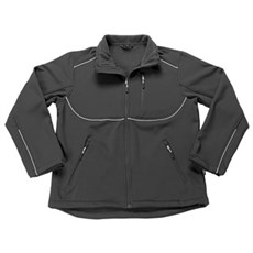 MASCOT® Softshell - Tampa jakke Str 2XL Sort