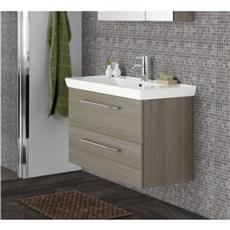 Scanbad Badeværelsessæt - Lotto XL M/vask - grå dekor