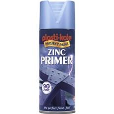 Plasti kote Spraymaling - PK METAL PROTECT 599 Zink primer 400 ml