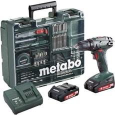 Metabo Akku bore-skruemaskine - BS 18 10 MM 2X2,0 WORKSHOP
