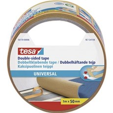 Tesa® Dobbeltklæbende tape - Dobbeltklæbende tæppetape