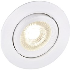 Halo Design Spotlampe - Easy downlight 1-2-3- step dæmp 7W hvid 230 volt