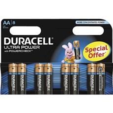 Duracell AA batterier - Ultra Power AA 8pk Special Offer