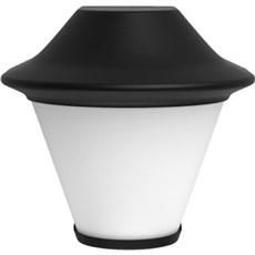 Philips Væglampe - Serres wall lantern black 1x42W 230V