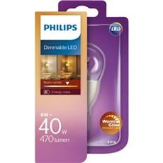 Philips LED - LED 40W P48 E14 WW CL WGD 1BC/4