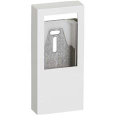 LK FUGA® Stikkontakt - BASELINE panelunderlag 1½ modul Hvid