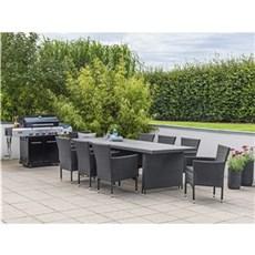 Outrium Havemøbelsæt - Altea Toscana 8 stole