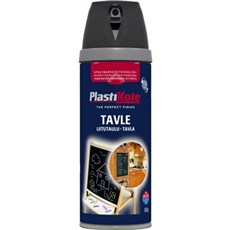 Plasti kote Spraymaling - TWIST TAVLELAK SORT 400ML