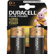 Duracell AAA batterier - Plus Power D 2pk