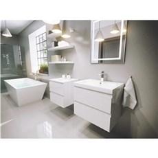 milobad Badeværelsessæt - Vedbæk 60 hvid