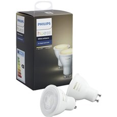 Philips LED - HUE WHITE P�RER - 2XGU10 / 5,5W