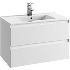milobad Badeværelsessæt - Charlottenlund 80 hvid