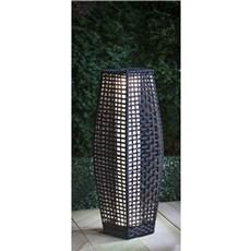 VELI LINE Solcellelampe - Solar Rattan Floor 49x19 cm.
