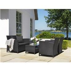 Outrium Havemøbelsæt - Toulouse sofasæt inkl. bord og hynder