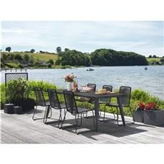 Outrium Havemøbelsæt - Cannes/Pang 6 stole