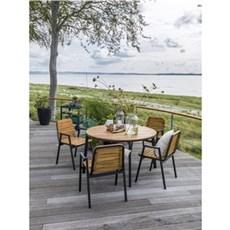 Outrium Havem�bels�t - Living akacie bord/4 akacie Living stole