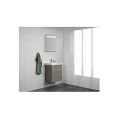 Scanbad Badeværelsessæt - MULTO+ LOTTO - M/Vask GRÅ 55 CM GRÅ