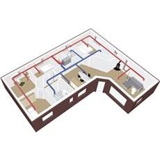Duka Ventilation - R�rpakke 200 m2