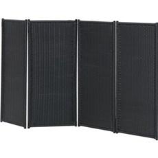 PLUS Hegn nem vedligehold - Trend Sort Foldev�g 235x120cm