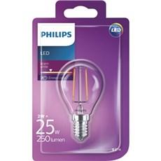 Philips LED - LEDClassic 25W P45 E14 WW CL ND 1BC/4