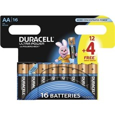 Duracell AA batterier - Ultra Power AA 12+4pk