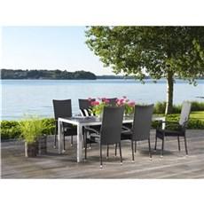 Outrium Havemøbelsæt - Alsace/Toledo 6 stole