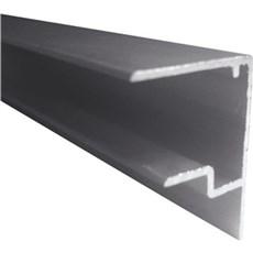 Plastmo Tagplade plast tilbehør - Clicklite forkantsprofil med drænkanal 16 mm 3 m