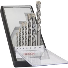 Bosch Borsæt - SILVER PERC 4-12 mm 7 stk.