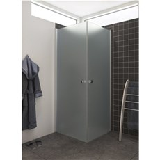 Scanbad Badafskærmning - BRUSEDØR ISGLAS