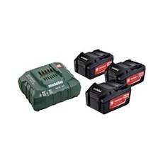 Metabo Batteri - BATTERISÆT  3 X 18V 4,0 AH