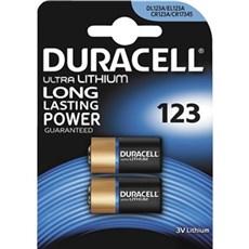 Duracell Special batterier - Ultra Photo 123 2pk