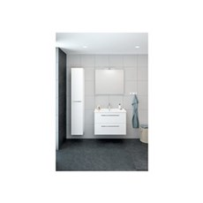 Scanbad Unit Badeværelsessæt - møbelpakke 80 cm, hvid